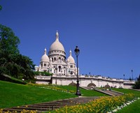 Sacre Coeur, Montmartre, Paris, France Fine Art Print