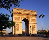 Arc de Triomphe, Paris, France Fine Art Print