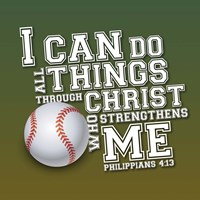 I Can Do All Sports - Baseball Fine Art Print