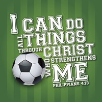 I Can Do All Sports - Soccer Fine Art Print