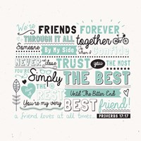 Friends Forever Fine Art Print