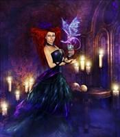 Madame Dragonessa Fine Art Print