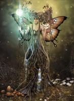Forest Sentinel Fine Art Print