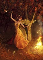 Fire Dance Fine Art Print
