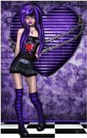 Purple Princess Fine Art Print