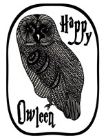 Happy Owleen Fine Art Print