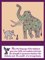 Elephant Print Fine Art Print