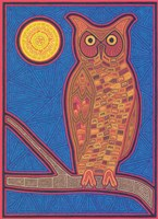 Large Owl Fine Art Print