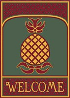 Pineapple Banner Fine Art Print