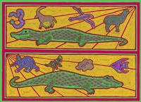 A Alligators Fine Art Print