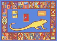 I Iguana Fine Art Print