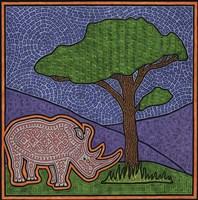Rhino Framed Print