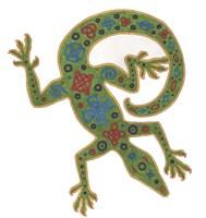 Lizard Celtic Knots Fine Art Print