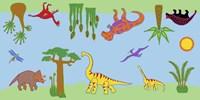 Dino Rug Fine Art Print