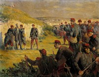 Death Of Eugene Varlin Executed By The People Of Versailles On May 28, 1871 Fine Art Print