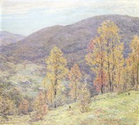 American Autumn Glory Fine Art Print