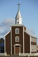 Rural Church II Framed Print