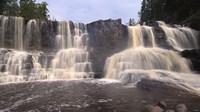 North Shore Waterfalls I Fine Art Print