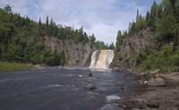 North Shore Waterfall And Lake II Fine Art Print