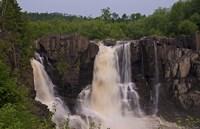 North Shore Rocky Waterfalls II Framed Print