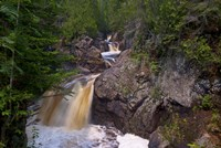 North Shore Waterfall Rapids Fine Art Print