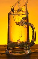 Glass Mug On Bar Fine Art Print
