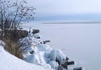 Lake Superior Winter Snow 27 Fine Art Print