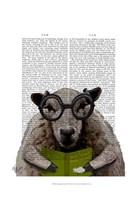 Intelligent Sheep Framed Print