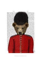 Guardsman Bear Fine Art Print