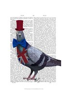 London Pigeon Fine Art Print