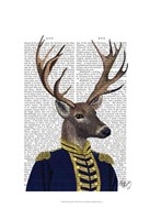 Captain Deer Framed Print