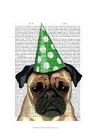 Party Pug Fine Art Print