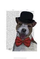 Jack Russell Union Jack Fine Art Print