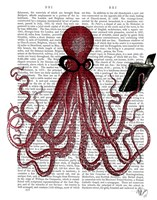 Intelligent Octopus Framed Print
