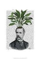 Aspidistra Head Plant Head Fine Art Print