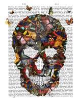 Butterfly Skull Fine Art Print