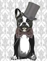 Monsieur Bulldog Fine Art Print