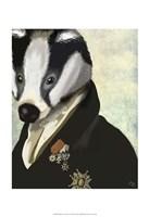 Badger The Hero II Framed Print