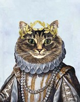 Cat Queen Fine Art Print