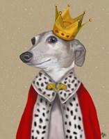 Greyhound Queen Fine Art Print