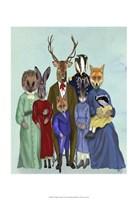 Woodland Family Fine Art Print
