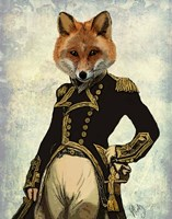 Admiral Fox Full II Fine Art Print