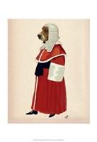 Basset Hound Judge Full II Framed Print