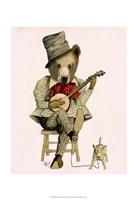 Banjo Bear II Framed Print