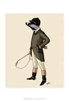 Badger The Rider Full II Framed Print