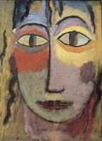 Head of Medusa, 1923 Fine Art Print