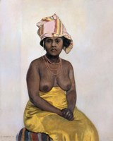 The African Woman, 1910 Fine Art Print