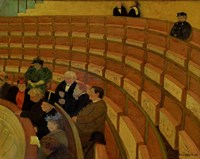 The Third Gallery at the Theatre du Chatelet, 1895 Fine Art Print