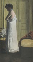 Woman Removing her Chemise, c. 1900 Fine Art Print