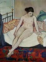 Female Nude, 1922 Fine Art Print